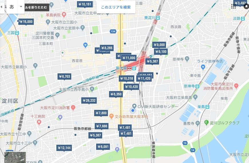 新大阪 ビジネスホテル情報