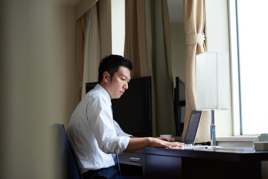 ビジネスホテル活用イメージ
