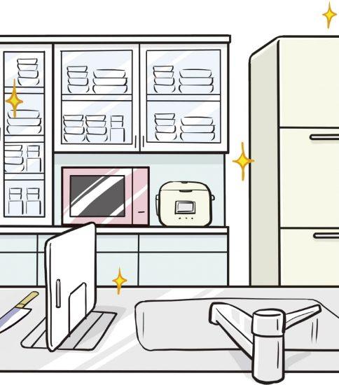 レンジ&冷蔵庫用シート